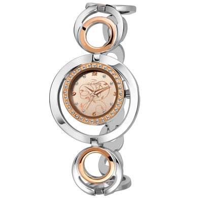 Duke Analog Rosegold Dial Women Watch Casual Watches for Girl's