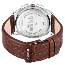 Load image into Gallery viewer, Duke Analog Brown Dial Men's Watch with Leather Band for Business,Casual