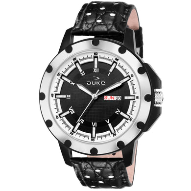 Duke Analogue Black Dial Men's & Boy's Watch