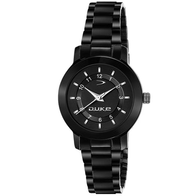 Duke Stylish Analog Black Wome's and Girl's Watch