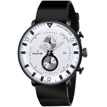 Load image into Gallery viewer, Duke Chronograph Men's Watch with PU Leather Strap