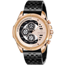 Load image into Gallery viewer, Duke Stainless Steel Strap Chronograph Rose Gold Men's Watch-(DK4009CRM02C)
