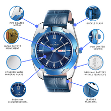 Load image into Gallery viewer, Duke Watch for Men - Automatic Date, Leather Strap Latest Men's Watch for Casual