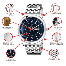 Load image into Gallery viewer, Duke Watch for Men - Luxury Analogue Stainless Strap Stylish Latest Men's Watch