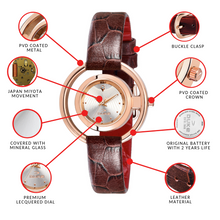 Load image into Gallery viewer, Duke Silver Dial Women Watch Business Casual Quartz Watches for Girl's