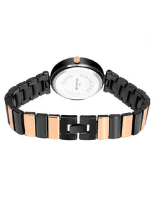 Duke Analog Rose Gold Wrist Watch for Woman and Girls- DK7018RW02C
