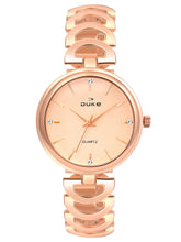 Load image into Gallery viewer, Duke Analog Rose Gold Wrist Watch for Woman and Girls- DK7013RW02C