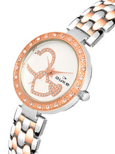 Load image into Gallery viewer, Duke Analog Metal Strap Rose Gold Wrist Watch for Woman and Girls- DK7004RW02C