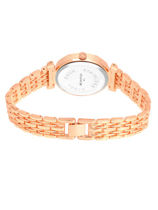 Duke Analog Rose Gold Wrist Watch for Woman and Girls- DK7007RW02C
