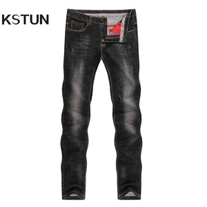 Men's Jeans 2020 Mens Black Jeans Slim Fit Stretch Autumn Denim Casual Quality Pants Business Trousers for Man Boys Jean Homme