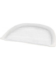 White Flat Surface Microfiber Pad (2032274)