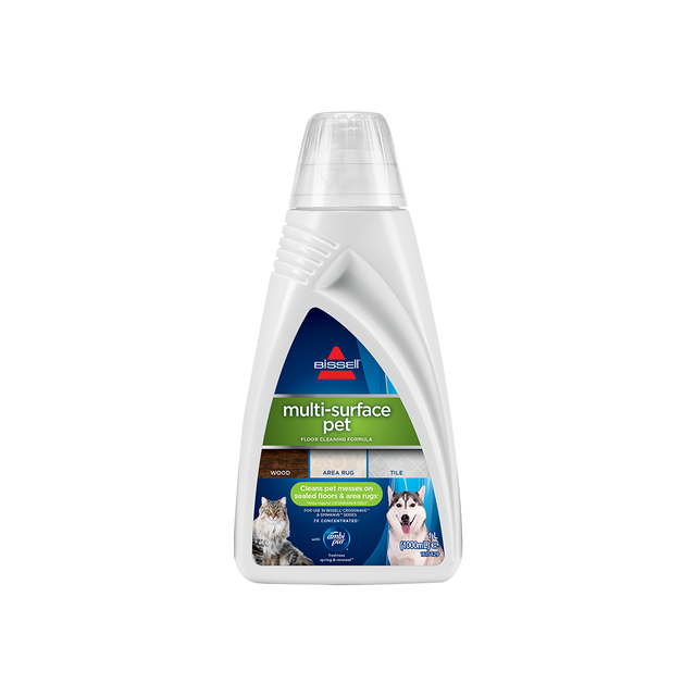 BISSELL Twin Pack Multi-Surface Pet Cleaning Formula For CrossWave & SpinWave 2531Formula For CrossWave & SpinWave 2531
