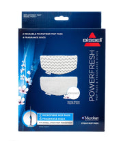 PowerFresh™ Steam Mop Replacement Pads and Fragrance Discs (1016F)