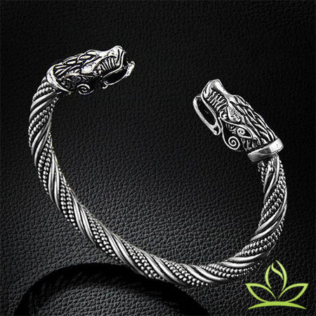Bracelet Viking | Dragon - Bracelet Chakra Shop