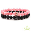 Bracelet Distance | Quartz Rose - Bracelet Chakra Shop