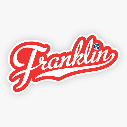 franklin tn sticker franklin tennessee decal stickers decals cursive script