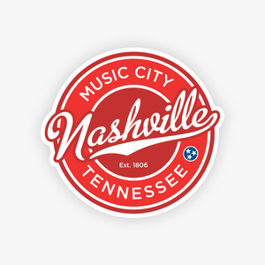 Nashville Sticker Nashville Decal Nashville Wholesale Stickers