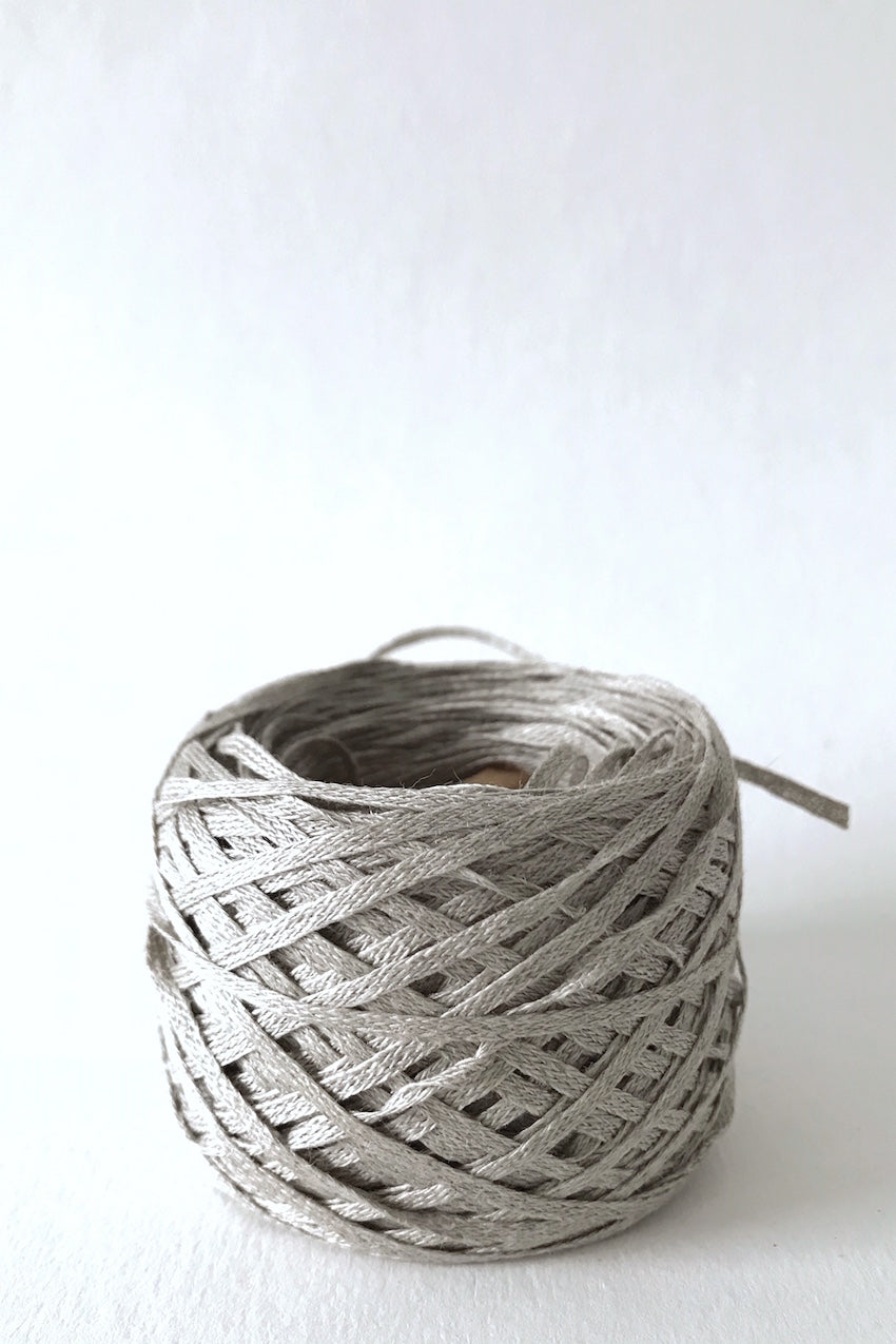n-98 wide knitted linen tape