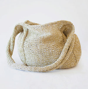 kit-18 silk & linen paper handbag
