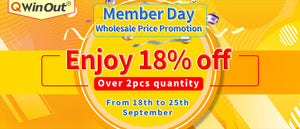 Member Day Wholesale price promotion