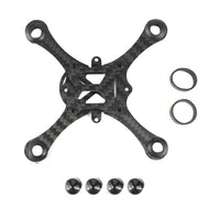 JMT Hollow Cup Rack Brushed Mini Drone Frame Kit 100MM Wheelbase Carbon Fiber for Indoor FPV Racing Airplane Accessory