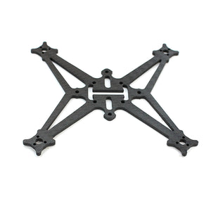 Happymodel Sailfly-X FPV Racing Drone Quadcopter Frame Kit 105mm Wheelbase Rack 3D Printed TPU Canopy Battery Holder