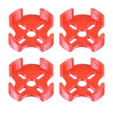 QWinOut 3D Printed Printing TPU Motor Protection Seat 3D Print Motor Mount 4pcs/set Suitable for 2204 to 2306 Brushless Motor DIY FPV Racing Drone Quadcopter