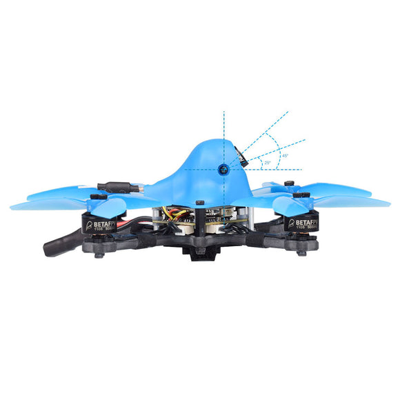 BETAFPV HX115 115mm HD 3-4S Freestyle Ripper Toothpick Quadcopter Drone with customized RunCam Split 3 Nano Camera 1105 5000KV Motor