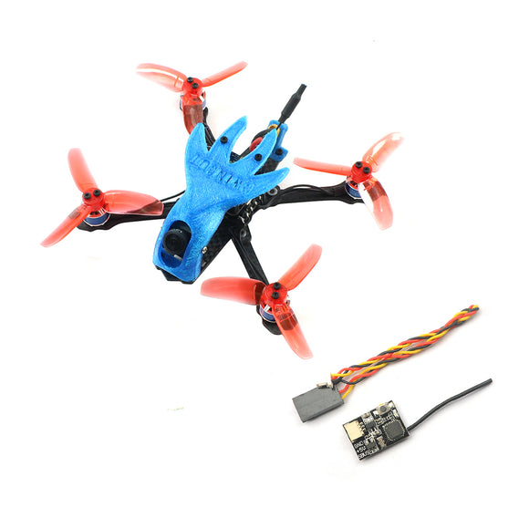 QWinOut Featherbird-135 135mm Brushless FPV Racing Drone 2S DIY RC Quadcopter BNF with MiniF4 FC XT1104-7500KV Motor FD800 Receiver