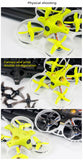Upgrade Version LDARC TINY GT7 75mm / GT8 87.6mm Mini FPV RC Racing Drone PNP BNF Betaflight F3 10A Blheli_S 800TVL Cam 5.8G 25mW VTX 2S Quadcopter
