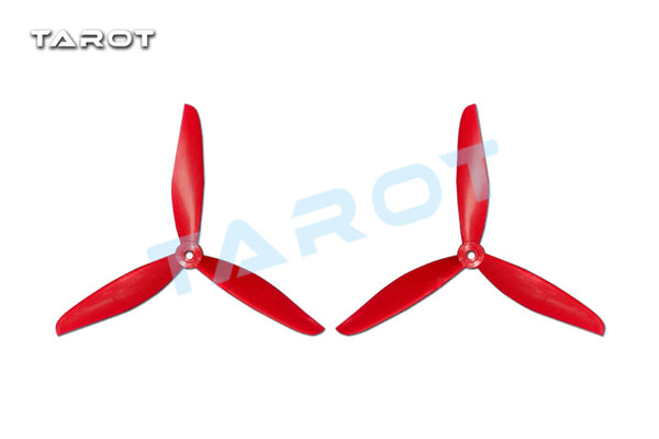 1 Pair Tarot 7 inch Plastic Trefoil Propeller Props CW/CCW for FPV Multicopter TL300E18