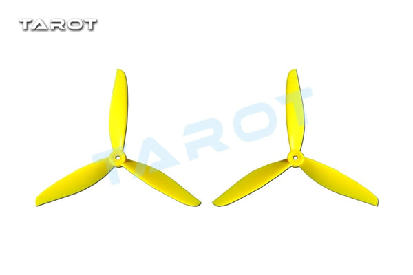 Tarot 7 inch 3-Blade Propeller Blade CW CCW Green for 300 350 Mini Quadcopter