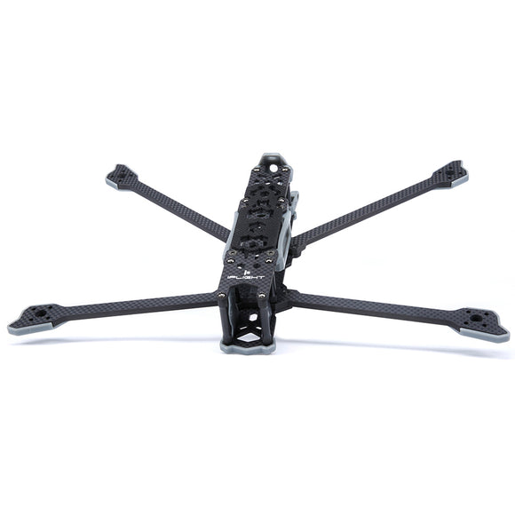 iFlight TITAN DC7 HD Frame Wheelbase 333mm 5mm Arm Carbon Fiber Airframe with 3D Print TPU Parts for DJI FPV Air Unit System FPV Racing Drone