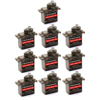 10PCS FEICHAO Mini SG90 9g Micro Servo for RC Helicopter Airplane Car Boat MG90S Metal/SG90 Plastic Gear Micro Servo Optional