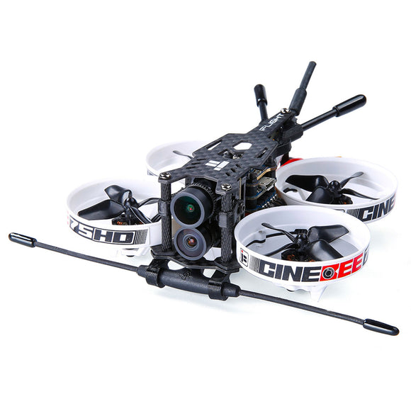 iFlight CineBee Hybrid 4K Whoop Indoor Cinewhoop 75mm 2-3S FPV Racing Drone PNP BNF with 1103 8000KV Motor 4K FPV Camera