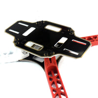 QWinOut F330 MultiCopter Frame Airframe Flame Wheel kit White/Red for KK MK MWC 4 axis DIY RC Quadcopter UFO