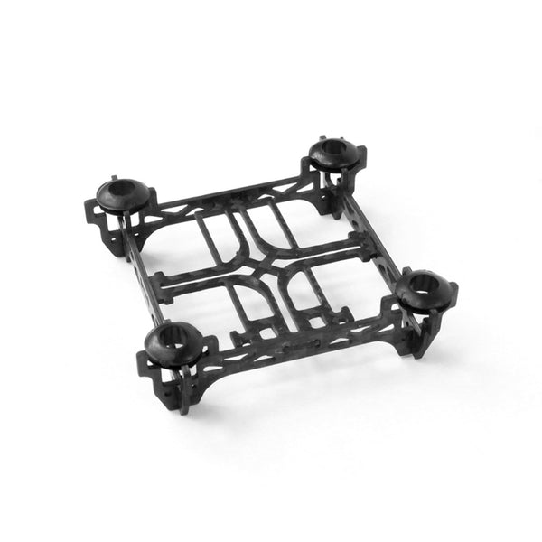 QWinOut Super Light Tiny QX80 80mm Mini 4-Axle Carbon Fiber Frame with Motor Mount Protector for DIY Indoor FPV Quadcopter Brush