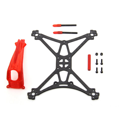 HGLRC Toothpick Parrot120 Carbon Fiber Frame Kit with 3D Print TPU Canopy for RC Quadcopter FPV Racing Drone