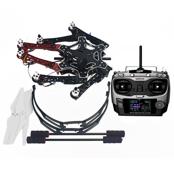 QWinOut Assembled F550 6-axis Kit with APM 2.8 Flight Controller GPS Compass No Battery & Charger No Gimbal (without Manual, Provide Technical Support)