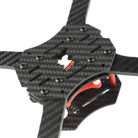 QWinOut Three1 210mm Carbon Fiber Frame Kit for FPV RC Racer Quadrocopter Drone