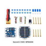 iFlight SucceX-E F4 FlyTower System with SucceX-E F4 Flight Controller / SucceX-E 45A 2-6S BLHeli_S Dshot600 4-in-1 ESC for FPV Racing Drone Quadcopter