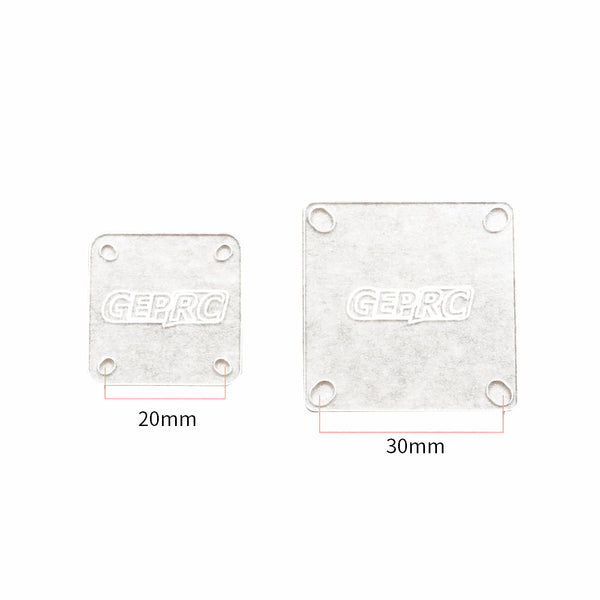 GEPRC F3 F4 F7 Flight Controller Insulation Sheet Pad 20*20mm 30.5*30.5mm for Power Distribution Board PDB CC3D NAZE32 Drone