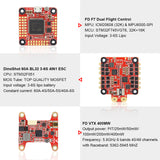HGLRC Sector5 V2 226mm FPV Racing Drone PNP / BNF with F7 FC 60A 4in1 ESC 2306 Motor 1600KV 6S / 2450KV 4S AURORA V2 FPV Camera 1200TVL RC Toy