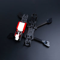 iFlight TITAN DC5 5inch 222mm FPV HD Freestyle Frame Kit with 6mm Arm Compatible DJI Air Unit for DIY FPV Racing Drone