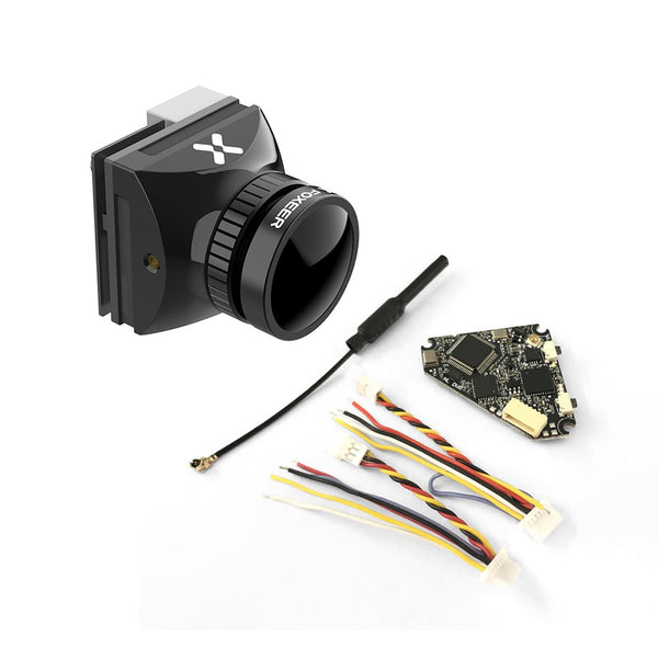 Foxeer HS1241 1.7MM M12 Lens 5MP 1200TVL FPV Camera with NameLessRC D400 VTX+DVR AIO 48CH Raceband for FPV Racing Drone RC Quadcopter