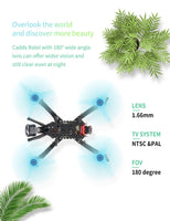 HGLRC Arrow 3 152mm 3 Inch F4 OSD 4S / 6S Mini FPV Racing Drone PNP BNF with 45A ESC Caddx Ratel 1200TVL Camera RC Quadcopter