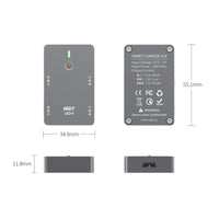 ISDT UC4 18W 4X1.5A 1S MINI Smart Battery Charger With Type C Input PH2.0 Output for LiPo/LiHv Battery