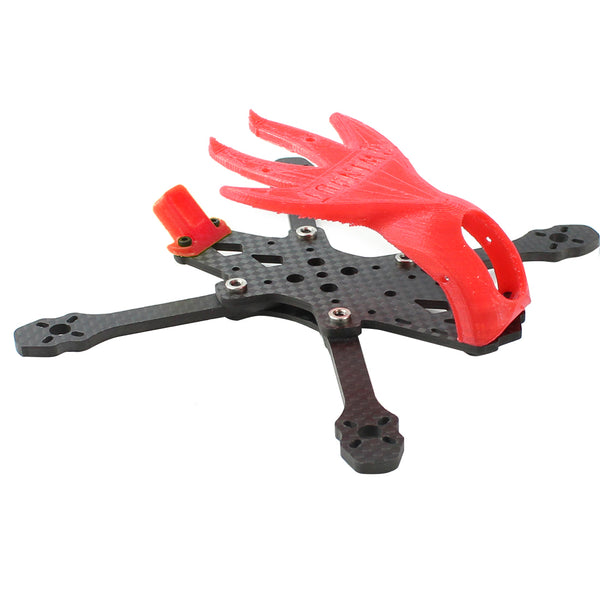 QWinOut Featherbird-135 135mm Wheelbase Carbon Fiber Frame Kit FPV Rack with 3D Print TPU Canopy for FPV Racing Drone DIY RC Quadcopter