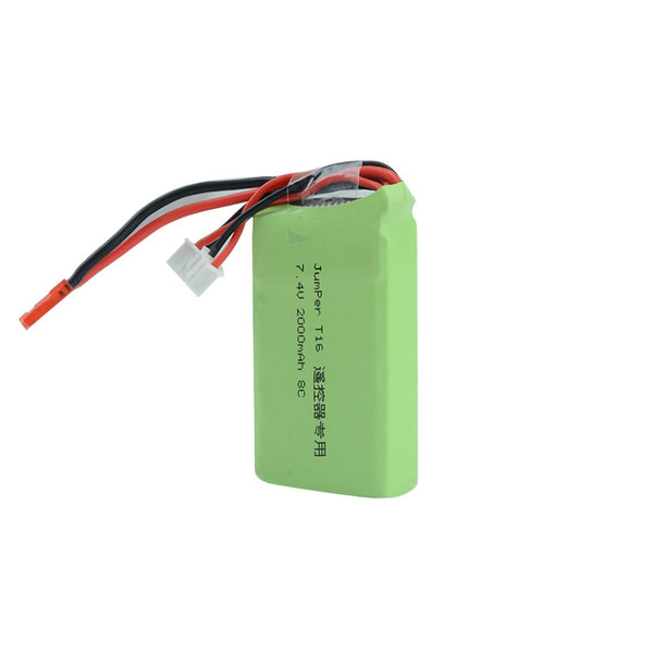 QWinOut 2S 7.4V 2000MAH 8C Transmitter RC Lipo Battery AKKU 66*36*17mm for Jumper T16 Plus Open Source Multi-protocol Remote Controller