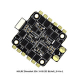 HGLRC DinoShot 35A 3-6S 4in1 ESC BLHeli_S Speed Controller for FPV Racing Drone Quadcopter DIY Aircraft